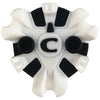 Catalyst Golf Cleats (ONE-Lok) | White/Black