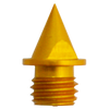 "Elite™ Track Spike (Aluminum) | 1/4"" Pyramid - Gold 