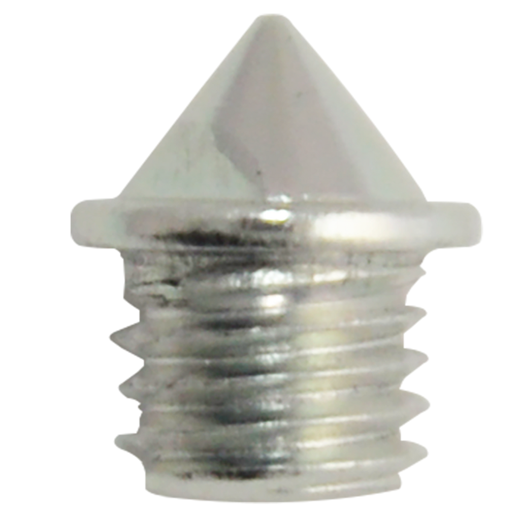 "Elite™ Track Spike (Aluminum) | 1/8"" Pyramid - Silver 