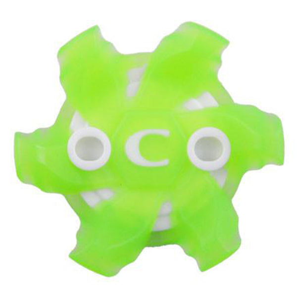 Pivix Golf Cleats (Slim-LOK®) | Translucent Green