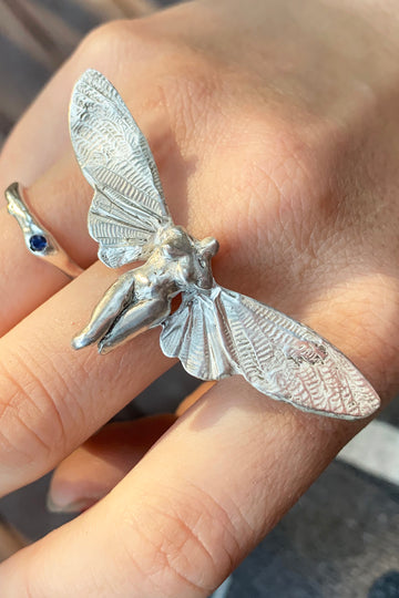 Botticelli Cicada Ring