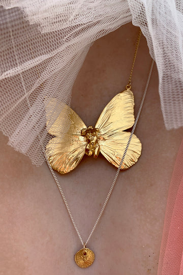 Butterfly Goddess Necklace