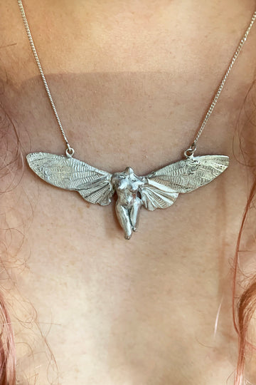 Botticelli Cicada Necklace
