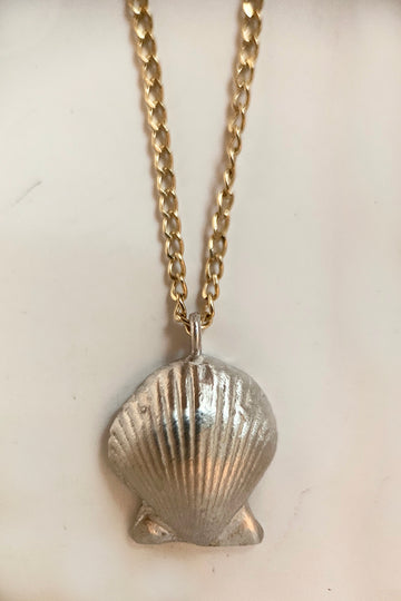Calico Shell Necklace