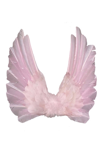 Floating Wings in Gallah Pink