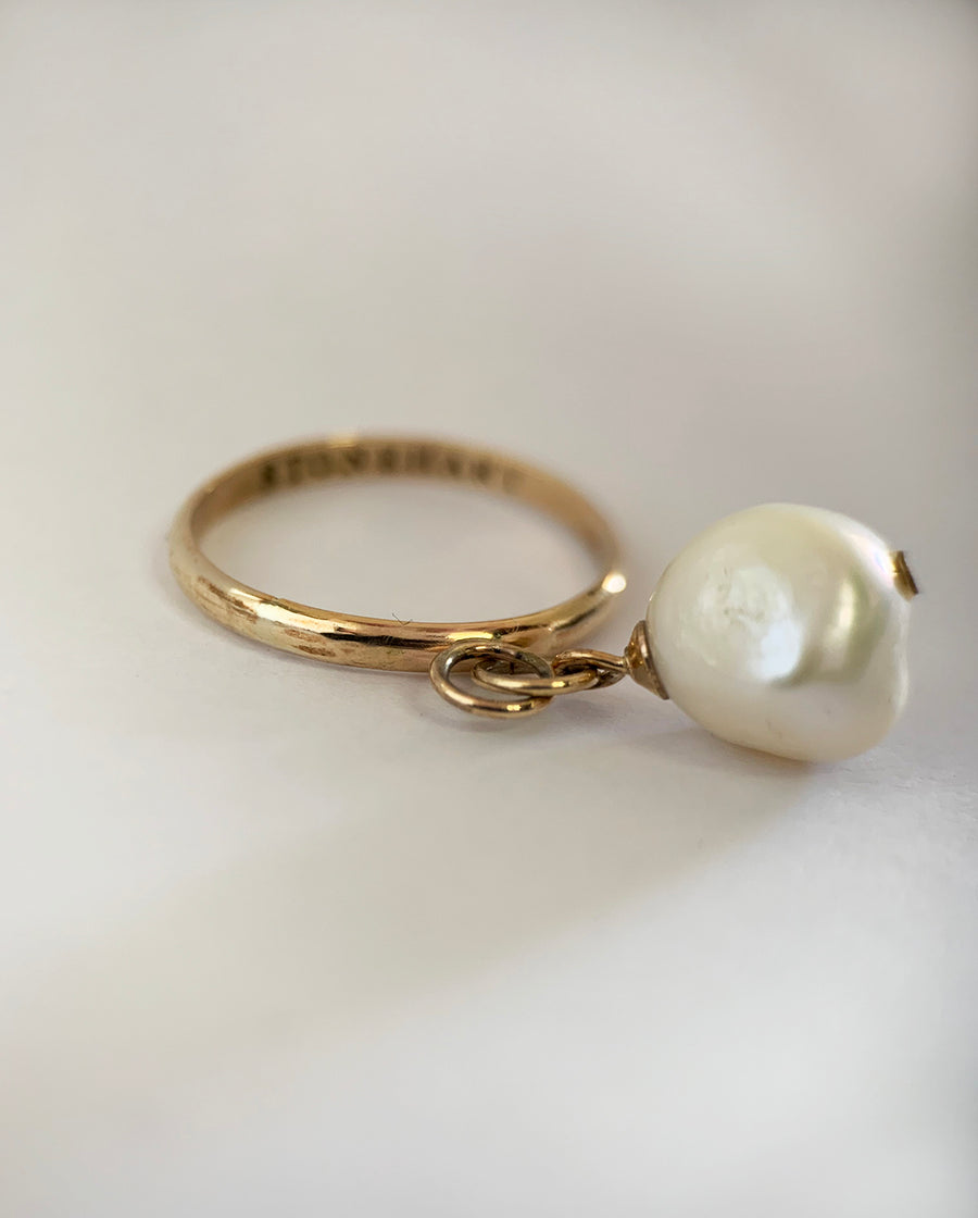 Pearl Drop Ring