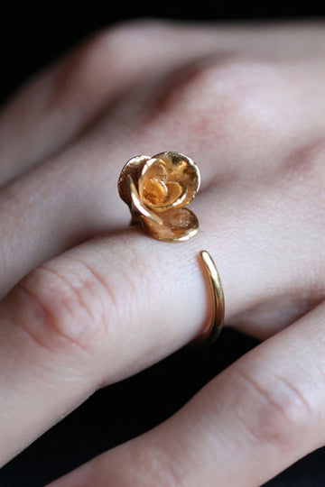 Open Rose Ring