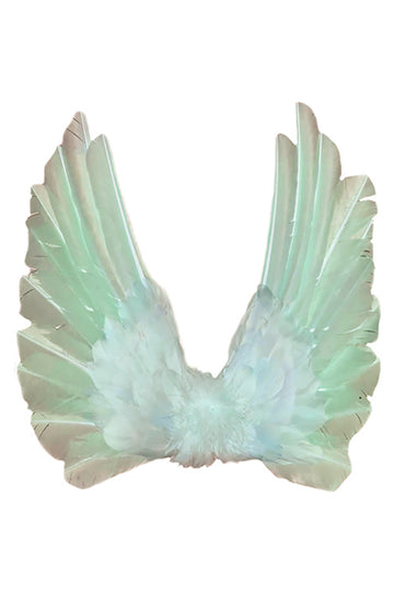 Floating Wings in Sea Green
