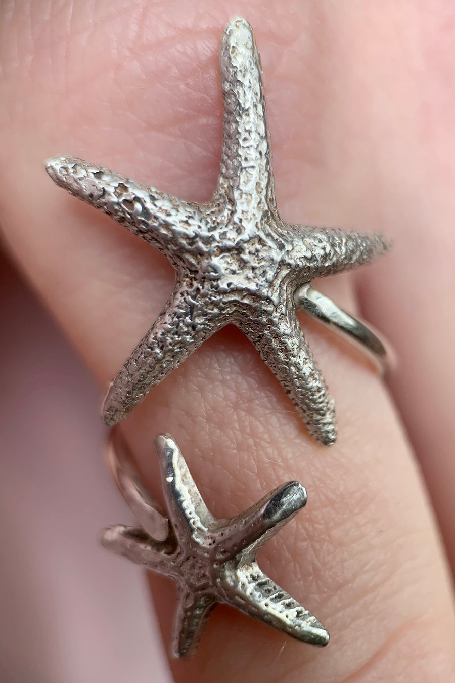 Double Starfish Ring