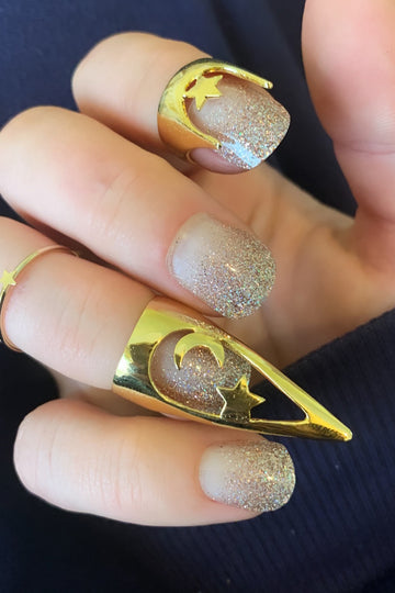 Starry Night Stiletto Ring