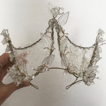 Glass Wildflowers and Lace