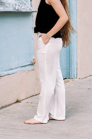 Reagan Drawstring Waist Pants
