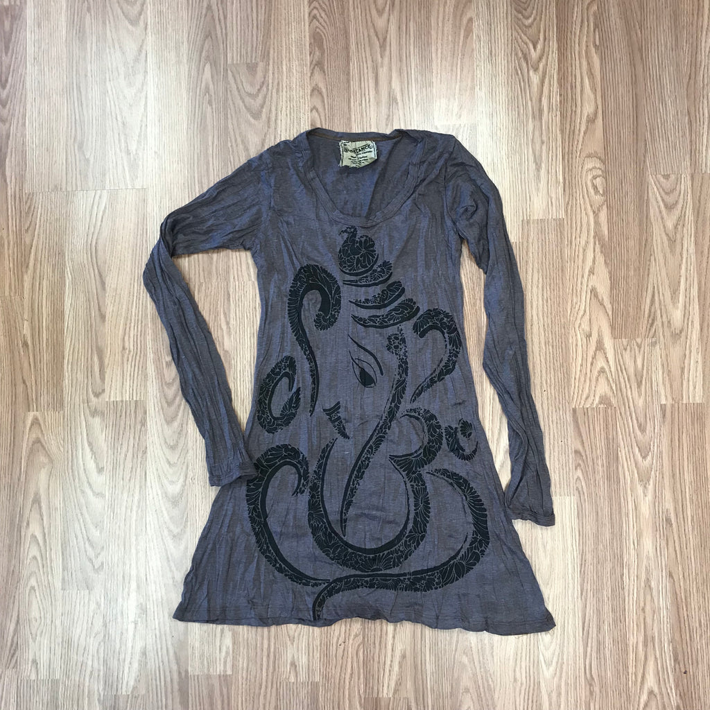 Elephant Om Longsleeve Dress
