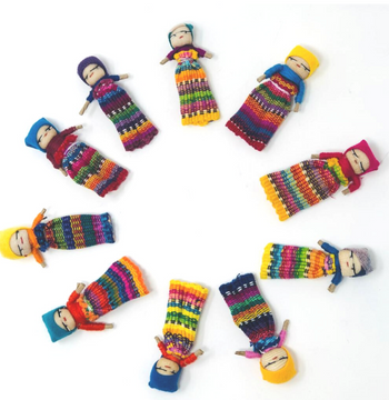 """2"""" Worry Doll"""