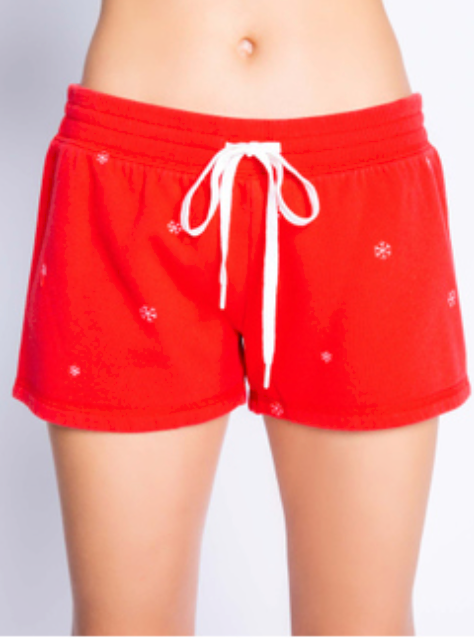 Red Joyful Shorts