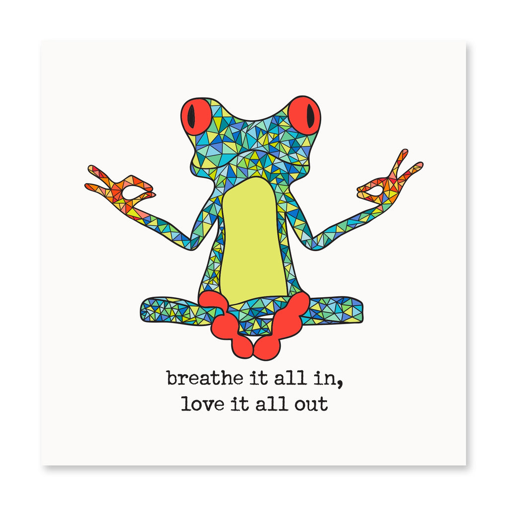 Breathe It All In Greeting Card
