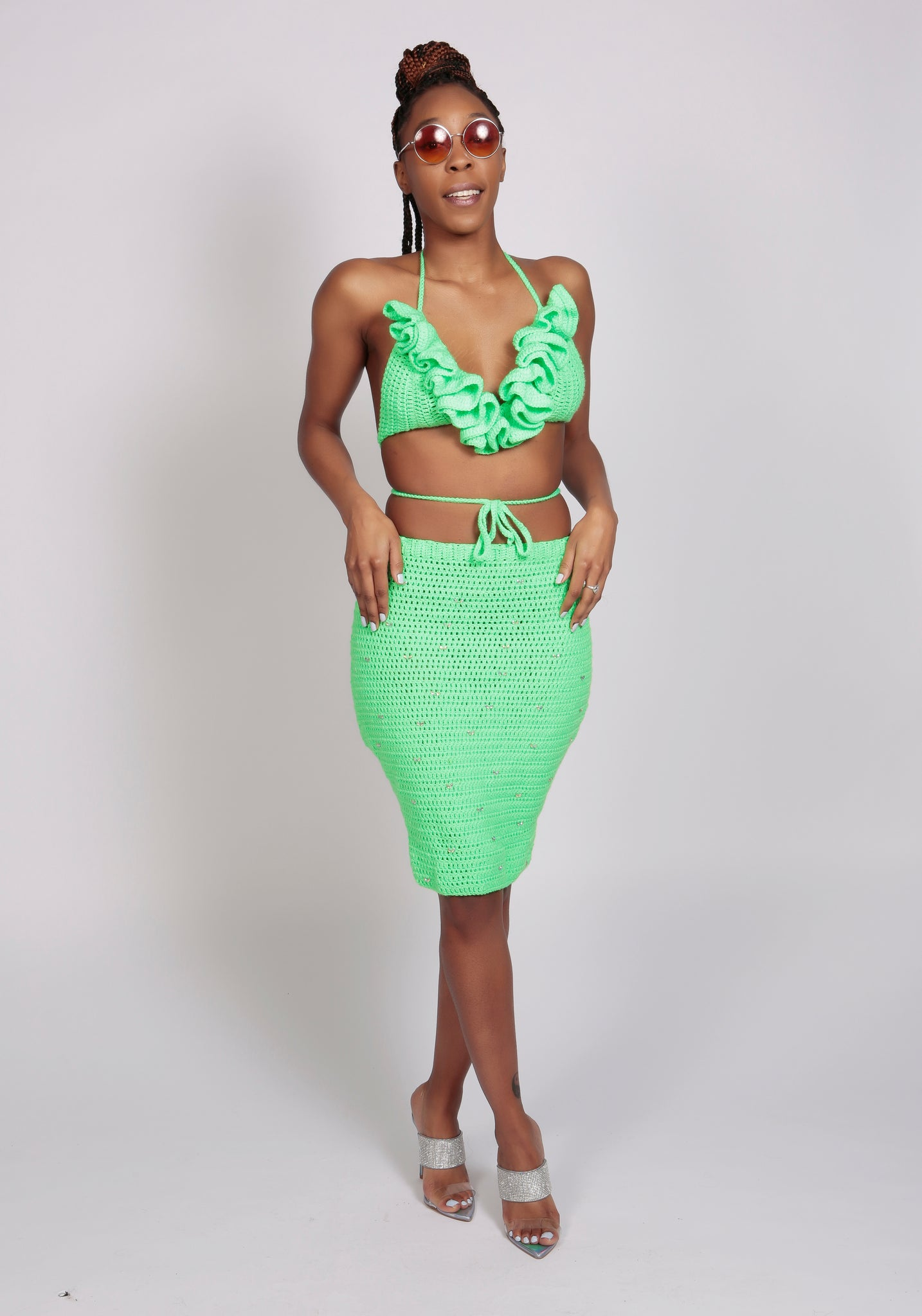 Dalilah Set - Neon Green