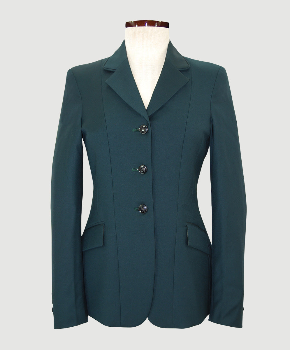 Ladies' CM Blue Label Green 3-Button Coat