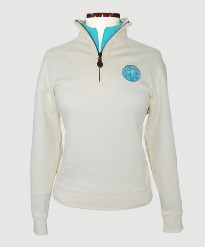 Cynthia Munro Pima Cotton Ladies' 1/4 zip
