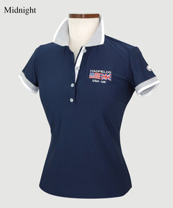 Hannah Childs Kaley Short Sleeve Polo