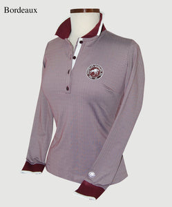 Hannah Childs Huntley Long Sleeve Polo