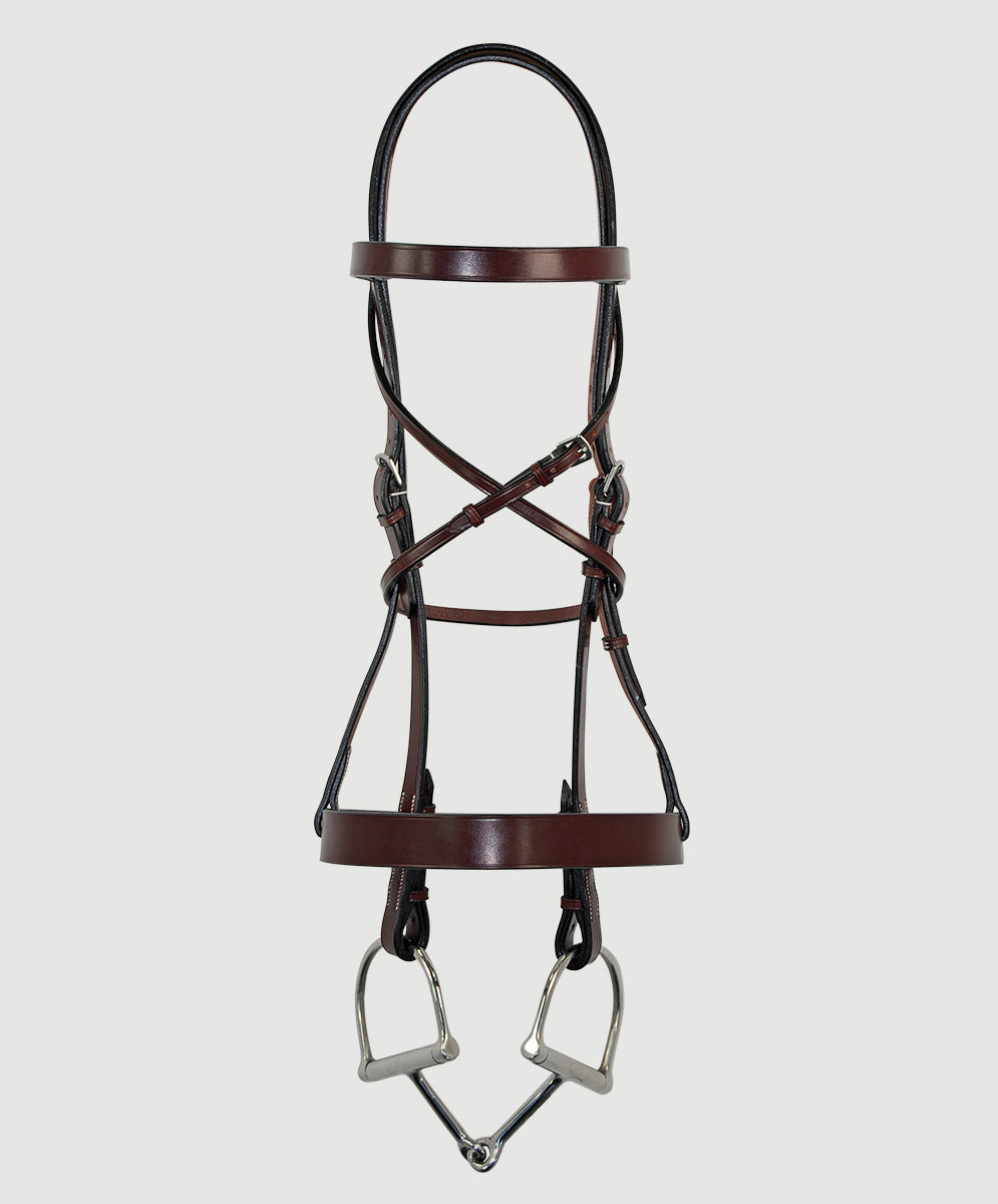 HBW-108 Bridle, Flat, Plain SPECIAL ORDER ONLY