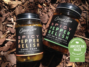 Cape Fear and Get Me A Switch Spicy Pepper Relishes 2015 Martha Stewart American Made Finalist in Food