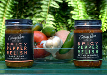 We use fresh ingredients in our Multi-award winning Spicy Pepper Relishes, Get Me A Switch and Cape Fear