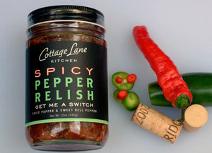 Get Me A Switch Spicy Pepper Relish