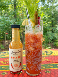 Hissy Fit Hot Sauce in your Bloody and Virgin Mary drinks is the bomb!
