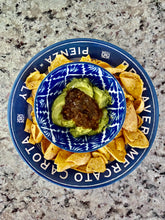 Get Me A Switch Spicy Pepper Relish on Guacamole with chips - Relicious!
