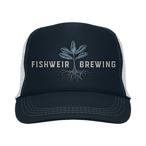 Mens Trucker Hat Navy/Blue
