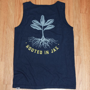 Navy Comfort Colors Tank
