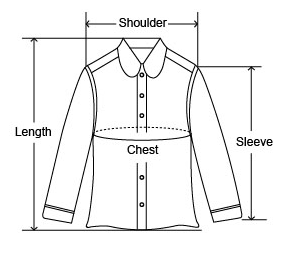 How to measure a men's jacket.