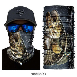 3D Neck Gaiter Guts Fishing Apparel