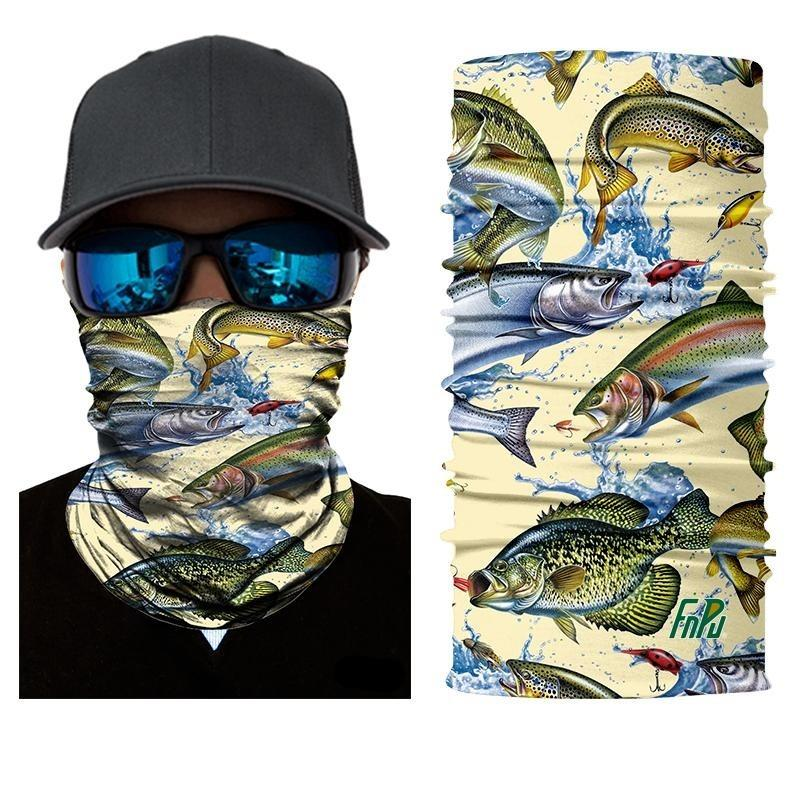 3D Neck Gaiters Guts Fishing Apparel
