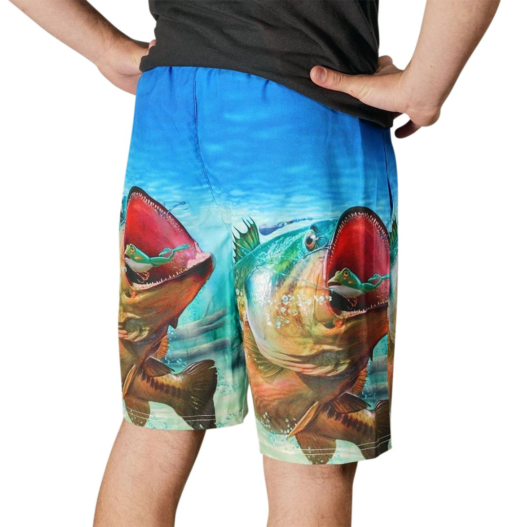 3D Print Fishing Shorts (3) Guts Fishing Apparel