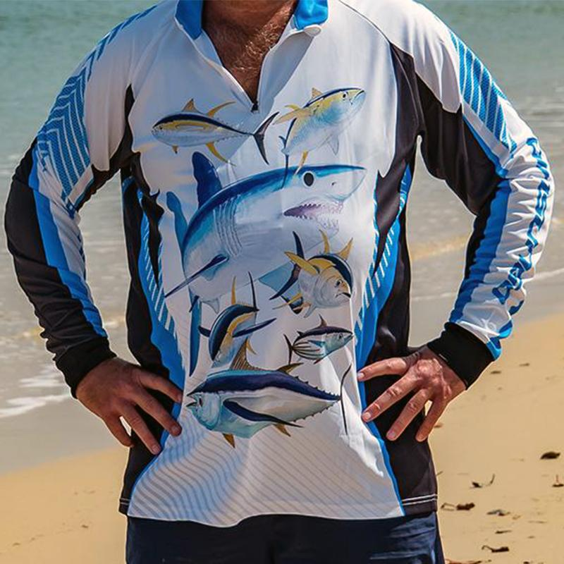 Blue Fin Rapid Dry Fishing Shirt