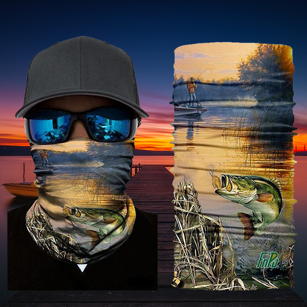 3D Neck Gaiters HR040642 Guts Fishing Apparel