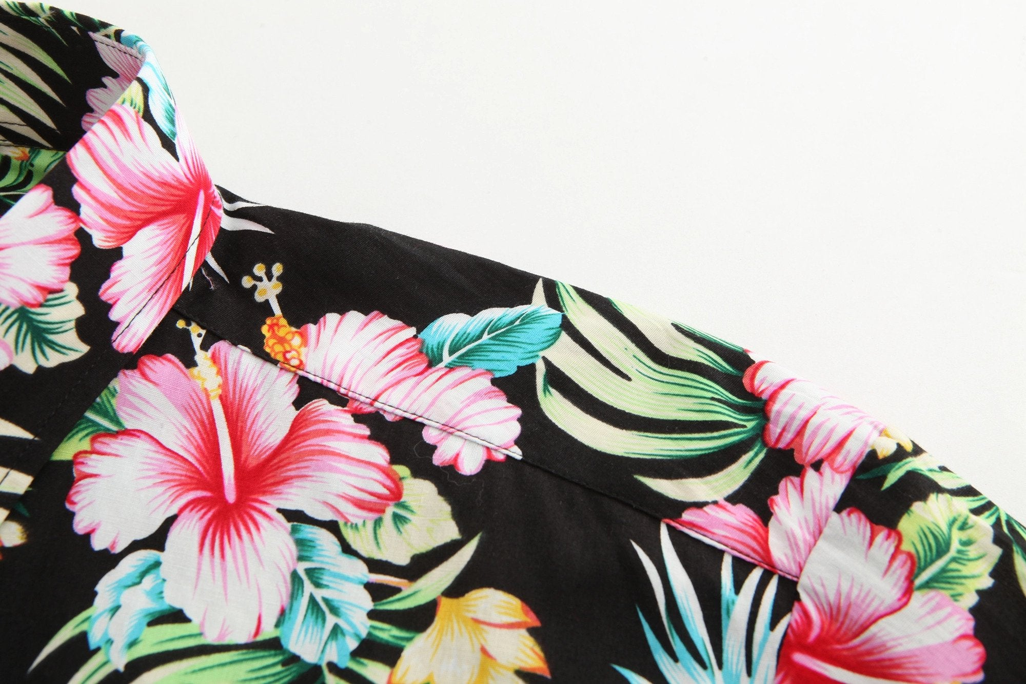 Hawaiian Shirt Black