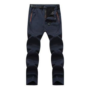 Softshell Fleece Trekking Pants Navy / 30