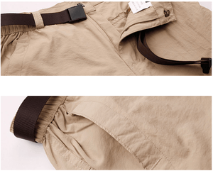 Lightweight khaki fishing pants.