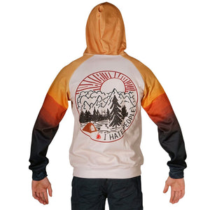 Camping Bear Hoodie Guts Fishing Apparel