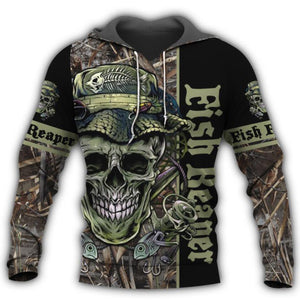 Fish Reaper Hoodie & T-Shirt Guts Fishing Apparel