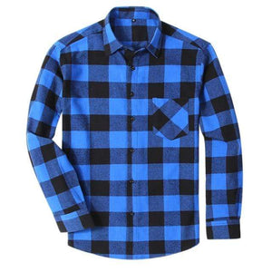 Fishing Shirt Flannelette Shirts Blue / S Guts Fishing Apparel