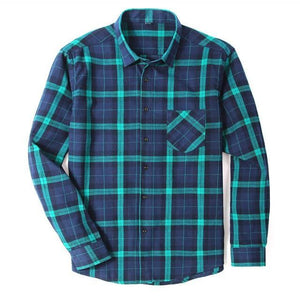 Fishing Shirt Flannelette Shirts Dark Green / S Guts Fishing Apparel