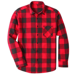 Fishing Shirt Flannelette Shirts Red / S Guts Fishing Apparel