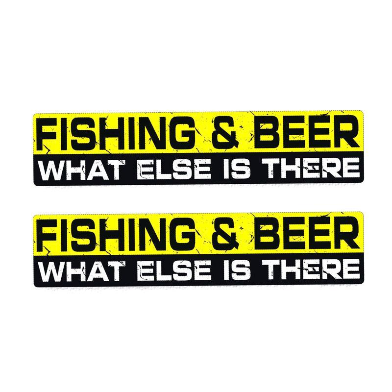 Fishing Stickers - 7 Pack