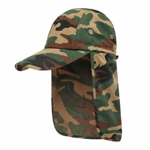 Flap Back Caps Camo Guts Fishing Apparel