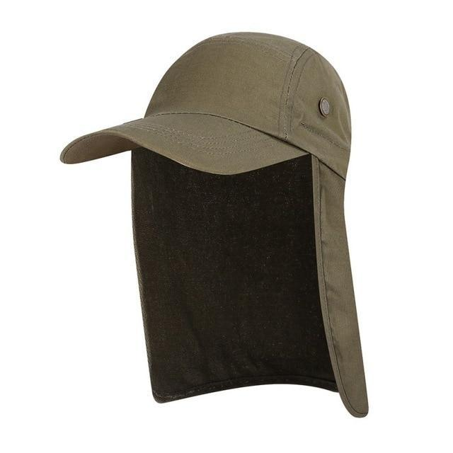 Flap Back Caps DARK GREEN Guts Fishing Apparel
